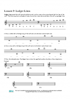 Ledger Lines T and B